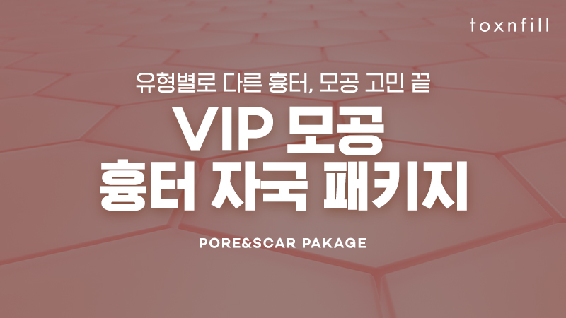 [VIP] 모공 흉터 자국 패키지